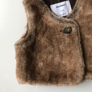 Old Navy Other - Old navy faux vest